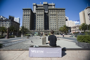 Westin-Hotel-Event-Marketing-Publicity-Stunt