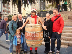 Bailout-Wine-Event-Marketing-with-Costumed-Characters