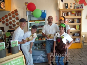 Jamba-Juice-Street-Team-Handing-Out-Fliers
