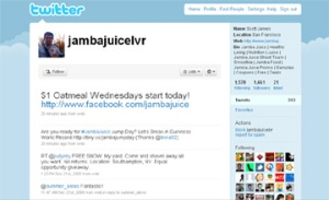 Jamba-Juice-Social-Media-Marketing-on-Twitter-for-Promotions-Agencies