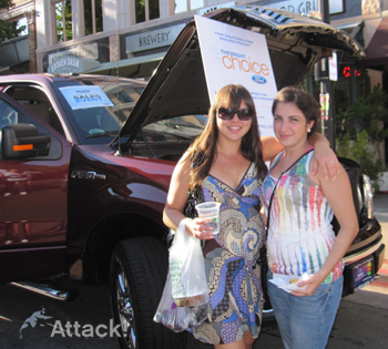 Ford-farmers-market-brand-ambassadors-and-flyering