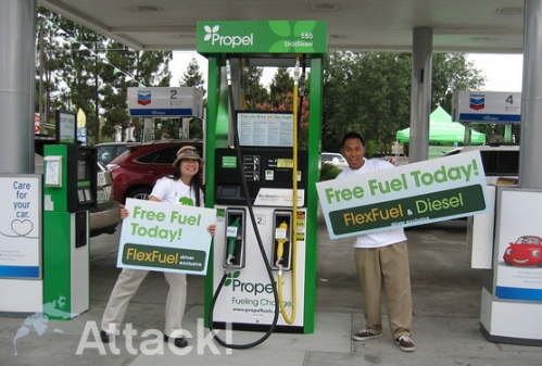 Propel-Fuel-San-Jose-Promotional-Street-Team