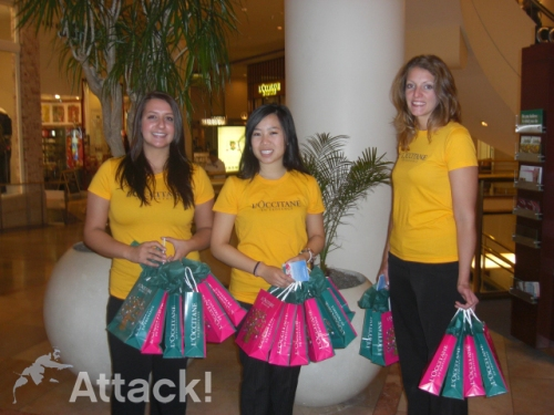 L'occitane-Brand-Ambassadors-at-San-Francisco-Center